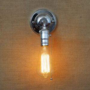 27 Loft Retro Vintage Rustic Sconce dison Wall Light Lamp Holder Bulb Socket