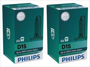 2x NEW D1S PHILIPS XtremeVision GEN 2 4800K +150% HID Xenon Headlight Bulbs
