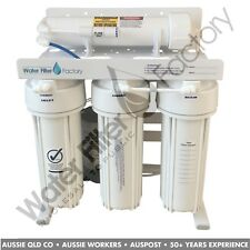 Aquarium Tank Reverse Osmosis DI Water Filters 380L RODI Filter + Pump ROPS-4-D