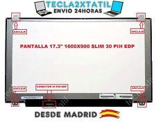"PANTALLA PARA PORTATIL B173RTN02.2 HW1A 17,3"" HD+ 1600x900 LED LCD 30 pin"