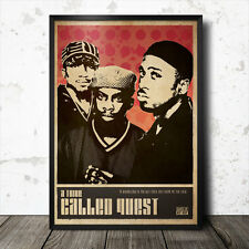 A Tribe Called Quest Hip Hop Art Poster Rap Music Eric B & Rakim Run DMC