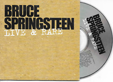 BRUCE SPRINGSTEEN - Live & rare Promo CD SINGLE 4TR EU Cardsleeve 2003