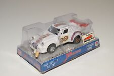 + SHINSEI MINI POWER 4403 PORSCHE TURBO 911 WHITE MINT BOXED