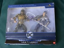 "Dc Multiverse Aquaman movie Gladiator Battle Arthur vs Orm 6"" figure set Target"