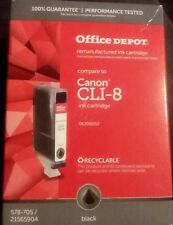 Canon CLI-8BK CLI-8 ink cartridge Office Depot