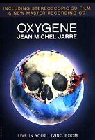 JEAN MICHEL JARRE - Oxygene - 3D DVD + CD - 3D Glasses
