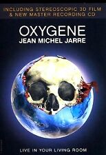 JEAN MICHEL JARRE - Oxygene - 3D DVD + CD - 3D Glasses - New & Sealed