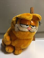 "Garfield United Features 1981 Stuffed Plush 9"" Vintage Fat Cat"