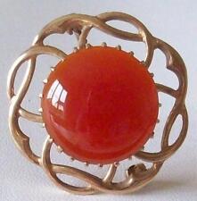 Agate Brooch/Pin Vintage Fine Jewellery