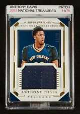 Anthony Davis National Treasures Card in Magnetic Case - Php 3,499