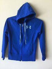Under Armour ladies size XS zipper front hooded jacket