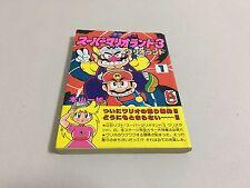 Super Mario Land 3 Wario Land manga comic Nintendo Game Boy Japan