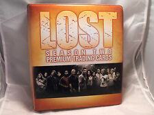 LOST SEASON 2 COLLECTORS BINDER