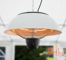 Firefly 2.1kw Ceiling Mounted Electric Patio Heater - 3 Heat Settings & Remote