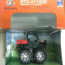 NEW RAY 1:64 DIE CAST TRATTORE MONSTER RTV-X1120D  KUBOTA A FRIZIONE ART 34197I