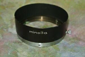 Minolta MC D57KG Metal Lens Hood Shade For Rokkor 58mm f.4 50mm f 1.2 Lens
