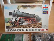 Revell / ESCI Model kit Train Merzwecklokomotive Baureihe 41 on 1:87 in Box