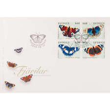 "Schweden Nr. 2125-2128 FDC Ersttagsbrief ""Schmetterlinge"""