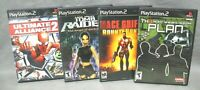 PLAYSTATION 2 Lot Of 4 ACTION - ADVENTURE - SHOOTER Video Games See Description!