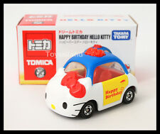 DREAM TOMICA HAPPY BIRTHDAY HELLO KITTY TOMY Diecast Car 2014 Asia SPECIAL