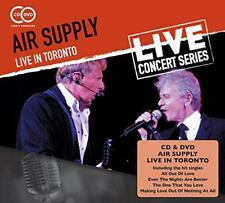 Air Supply - Live In Toronto (NEW CD+DVD)