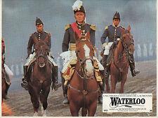 ROD STEIGER CHRISTOPHER PLUMMER WATERLOO 1970 5 VINTAGE LOBBY CARDS LOT
