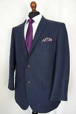 Men's New Racing Green Tailored Fit Navy Suit 42S W38 L32 AA492