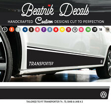 T5 T4 VW Solid Side Stripe Sticker Decal Transporter Graphic Vinyl