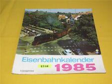 ORIGINAL transpress Eisenbahnkalender Wandkalender 1985 Kalender 32x34 cm DDR