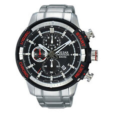 PM3047X1 NEW Pulsar Gents Chronograph Stainless Steel Bracelet Watch