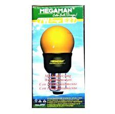 Lampadina risparmio energetico 7W luce Arancione E27