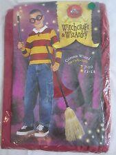 Crimsom Wizard Halloween Shirt w/Cape Costume - Boy's Size 7-10 - C81 - New
