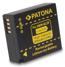 2 BATTERIES PATONA Panasonic DMC GF3T GF3W GF3 GF3x S6 S6K BLE9 BLE9P