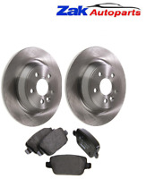 FOR FORD MONDEO MK4 (2007-2015) REAR BRAKE DISCS AND BRAKE PADS SET