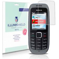 iLLumiShield Matte Screen Protector w Anti-Glare/Print 3x for Nokia 1616