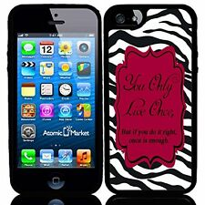 Zebra You Only Live Once For Iphone 6 Case Cover