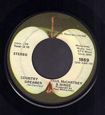 """PAUL McCARTNEY & WINGS – Helen Wheels (1973 US APPLE VINYL SINGLE 7"""")"""