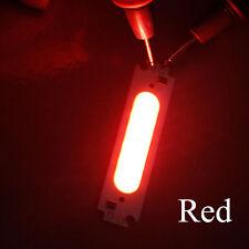 7 Color COB Strip LED Source 1W DC12V Light Moudule Flip Chip Bar Lamp DIY Car
