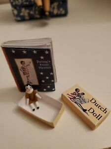 Miniature readable book PENNY'S FROM HEAVEN & mini DOLL IN BOX! For Hitty doll