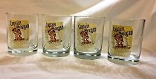 Lot of 4 CAPTAIN MORGAN Spiced Rum Glasses 12 oz Spiced Rum