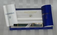 Waterman Fountain Pen Laureat Mineral Green Original Box Papers Used Excellent