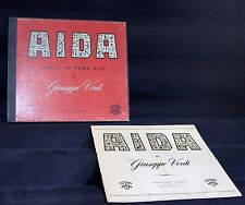 CETRA SORIA AIDA OPERA IN FOUR ACTS BY GIUSEPPE VERDI RECORDED IN ITALY 3LP