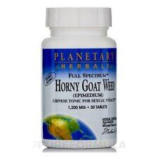 Epimedium, Horny Goat Weed,  1200mg x 60 Tablets - Planetary Herbals
