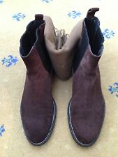 Gucci Men's Shoes Brown Suede Chelsea Dealer Boots UK 8.5 US 9.5 EU 42.5