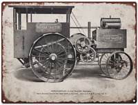 "1915 Nichols Shepard Oil Gas Tractor Mancave Metal Sign Repro 9x12"" 60289"