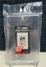Ultra Pro - Tobacco Size One-Touch - Gold Magnetic Card Holder - 35pt - w/UV