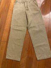 Boys Izod Kakhi Uniform Pants Size 14 R