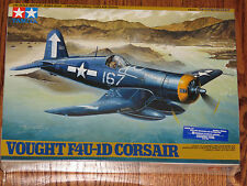 Tamiya 1/48 Scale Vought F4U-1D Corsair US Navy Fighter Plane NISB
