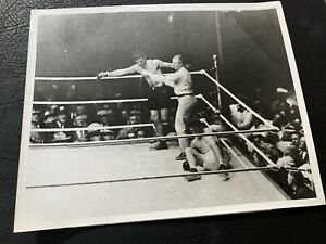 1927 Jack Dempsey Vs. Gene Tunney Original Vintage Boxing Photo Mint