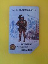 46 Raduno Nazionale Bersaglieri 1998 Collectable Used Italian Phone Card, LTD